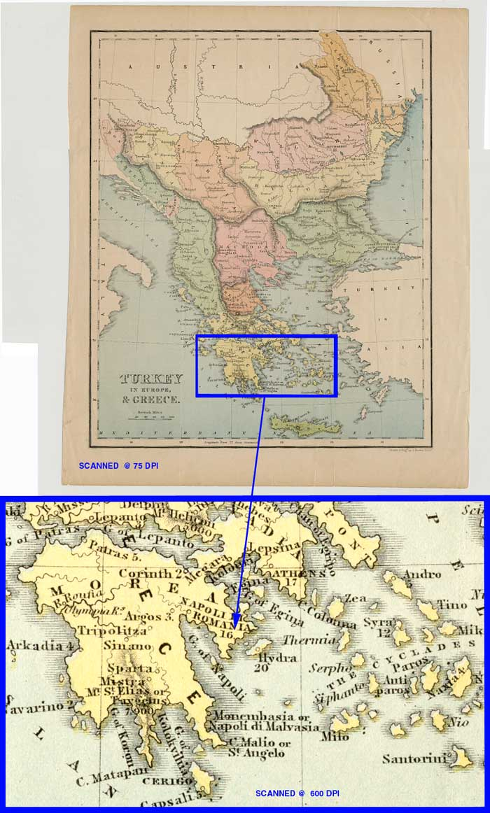 Close from 1784 from greece?