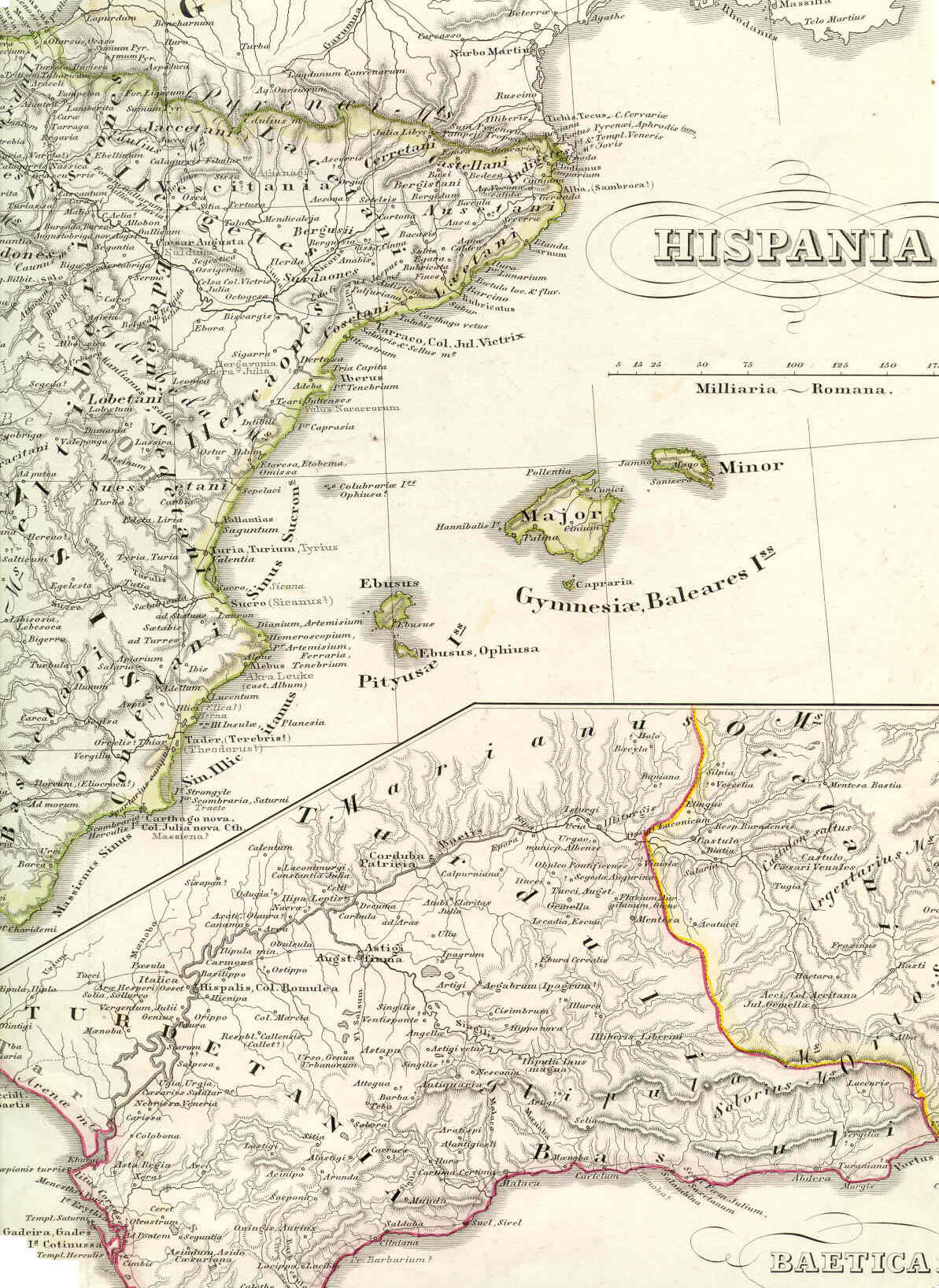 Detailed Map Of East Coast Of Spain.Maps And Photos